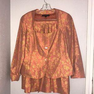 Silk suit, Lafayette 148 New York